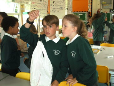 In Science we have been investigating gravity and learning to measure forces accurately.
