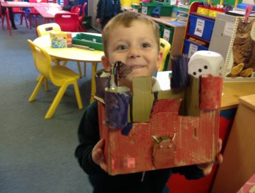 Well done Victoria and George amazing castles