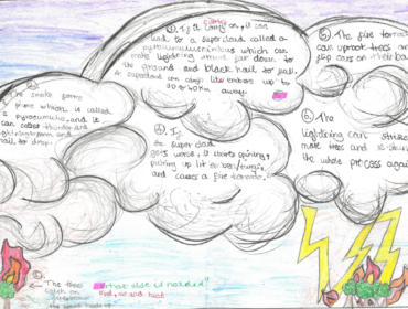 Bushfire weather by Ayla